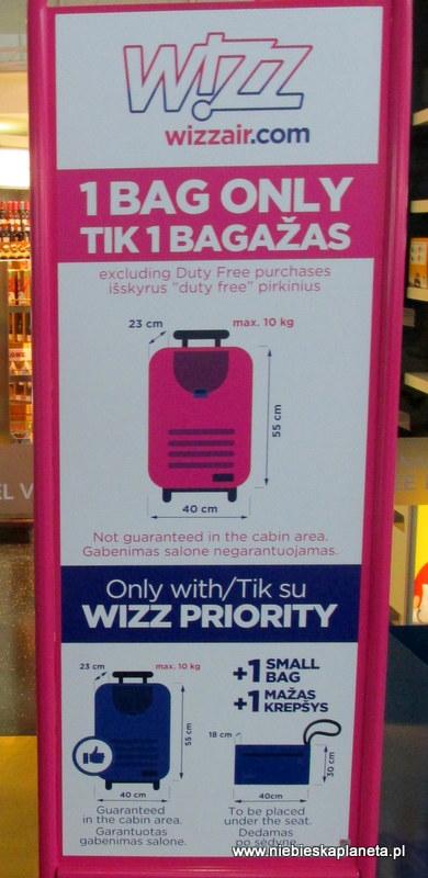 c7c4d377408c1 Plecak na bagaż podręczny w wizzair